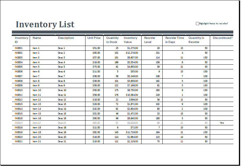 Excel Inventory Sheets Templates Excel Templates Spreadsheet Template Excel Templates Spreadsheet Template Business