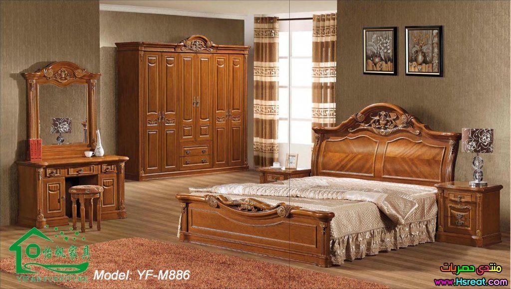 صور ديكور غرف نوم خشبية كاملة تجنن غرف عصرية حديثة جميلة Wooden Bedroom Furniture Sets Wood Bedroom Furniture Sets Wooden Bedroom Furniture