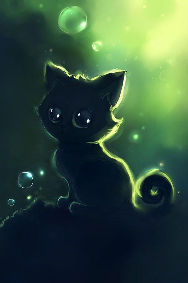 Aww Cute Cat Cute Anime Cat Anime Animals Anime Cat