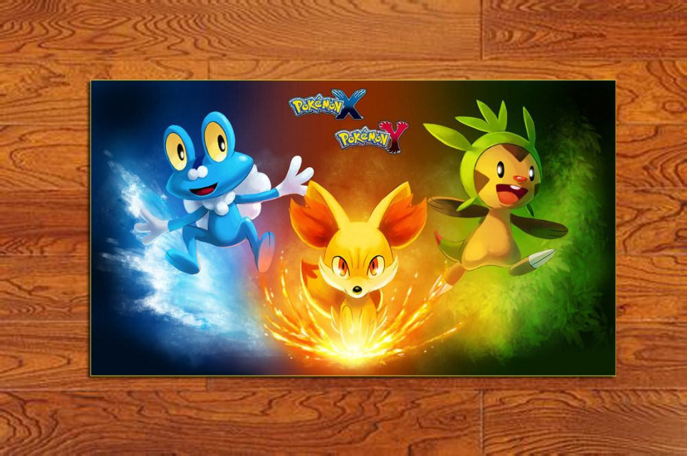 Cheap Poster Print Buy Quality Printed Matter Directly From China Print Wall Poster Suppliers 1x 15 27 Inches Game Post Cool Pokemon Wallpapers Pokemon Cool Pokemon
