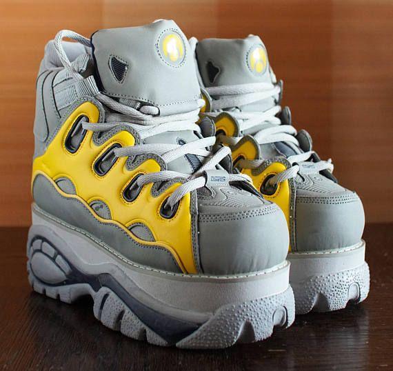 Tower techno 2000 Platform Rave Club Kid sneakers 90's