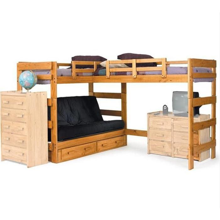 Twin Futon Loft Bed Nebraska Furniture Mart Small And Cozy