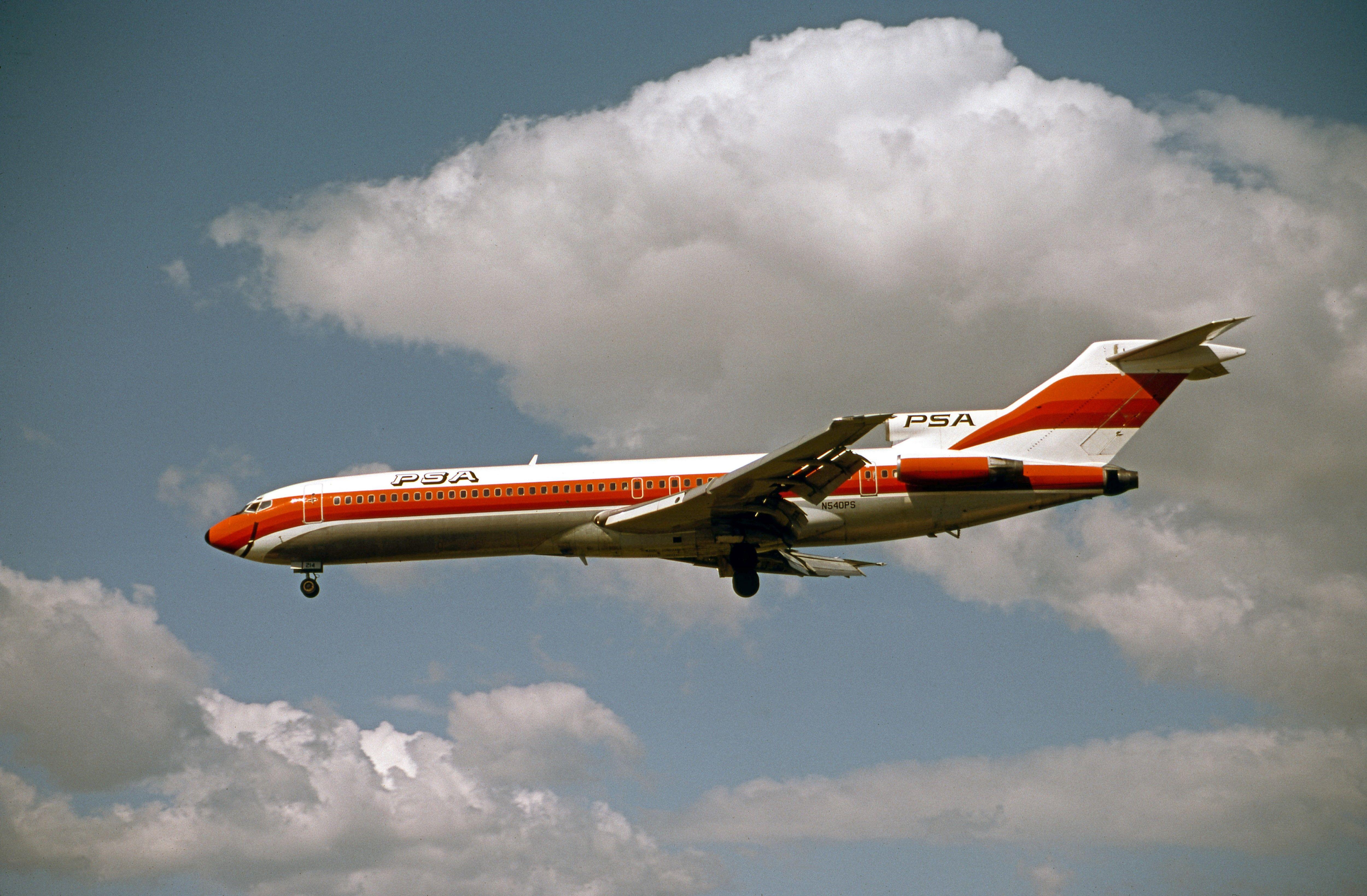 PSA 727200 Passenger, Passenger jet, Southwest airlines