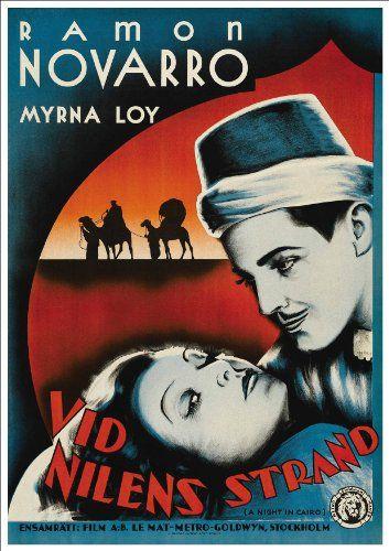 The son daughter Ramon Novarro vintage movie poster