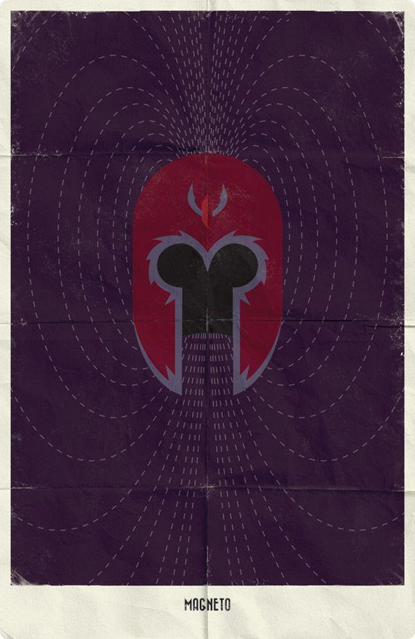 Posters Minimalistas de SuperHéroes | Designals