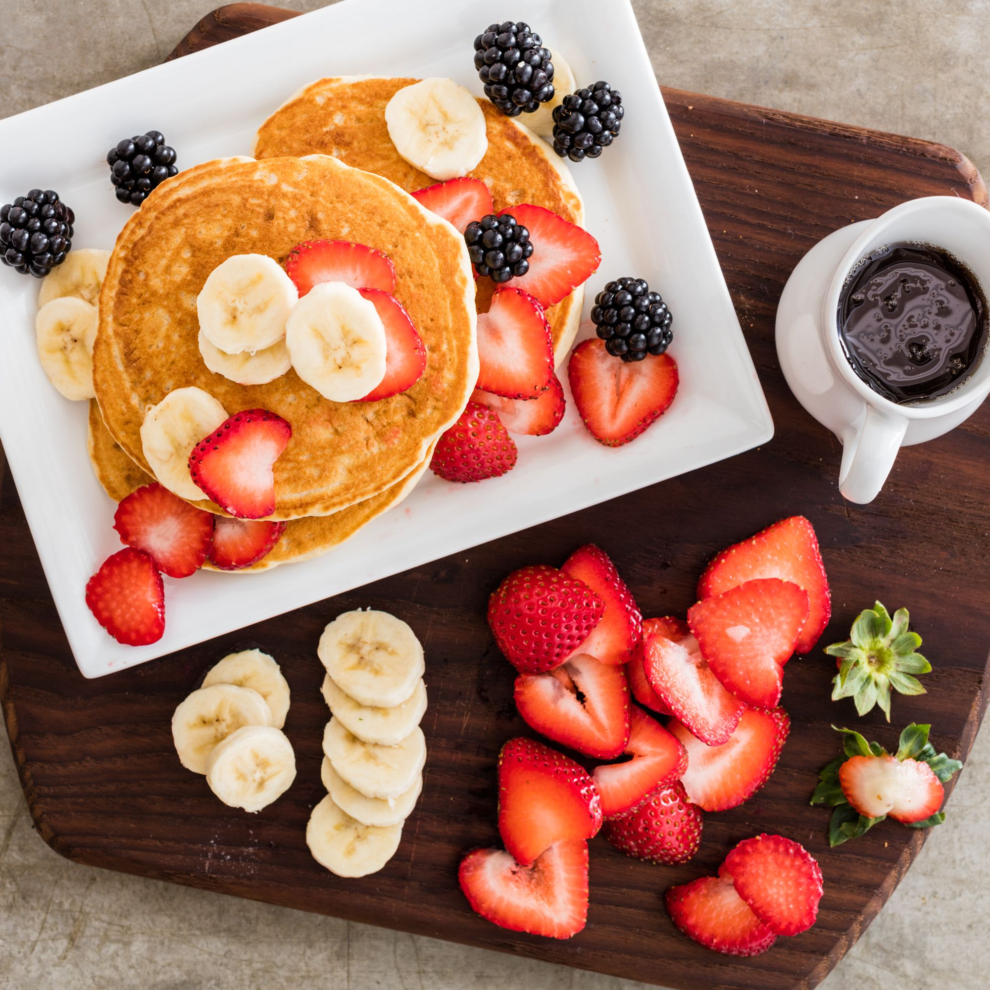Learn to make fluffy, flavorful pancakes from scratch. Use these easy tricks with your favorite pancake recipe, from basic pancakes to blueberry pancakes.