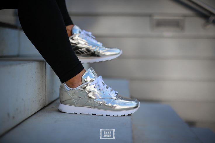 Sandro x Reebok Classic Leder Shiny happy Sneakergirl(s