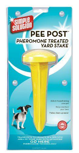 9 20 9 99 Simple Solution Pee Post Pheromone Treated Yard Stake