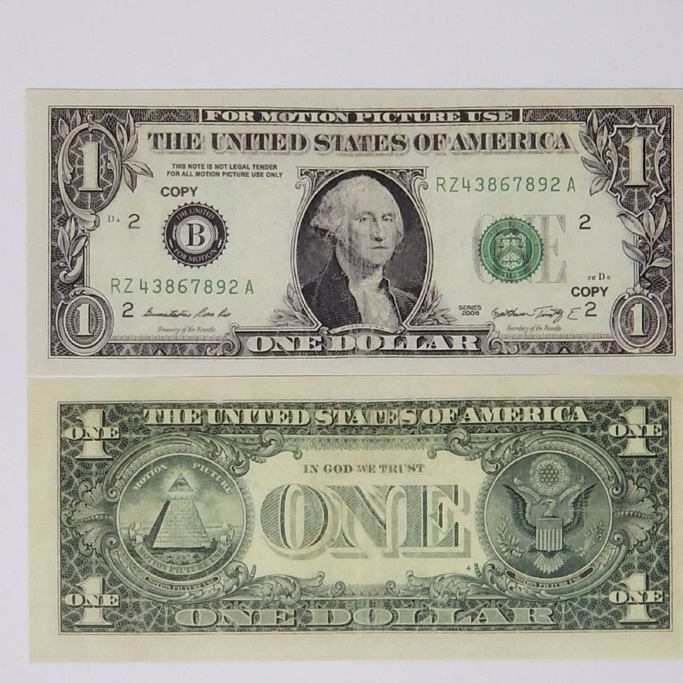 Hawaii WWII Reproduction Currency Set WW2 Paper Money Copy
