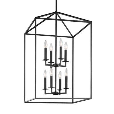 white foyer pendant lighting candle. Odie 8-Light Foyer Pendant White Lighting Candle A