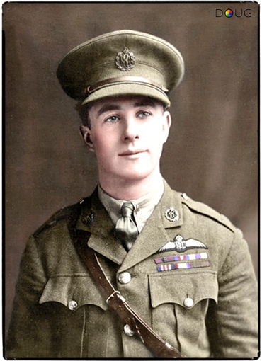 James Thomas Byford Mccudden Was The Most Highly Decorated