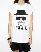 Yeni 2015 moda kötü kırma gömlek kadın giyim Heisenberg baskı kısa kollu serseri t- shirt marka üstleri kadın artı boyutu için(China (Mainland))