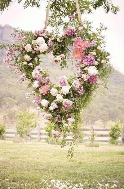 corazon de flor
