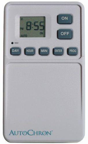 Amazoncom AutoChron Programmable Wall Light Switch Timer Home