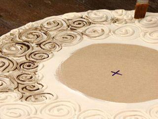 Marco con textura enduido plastico decoracion de for Utilisima espejos decorados