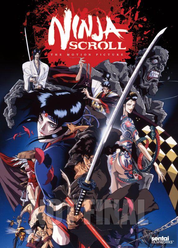 Ninja Scroll Anime Crunchyroll Ninja