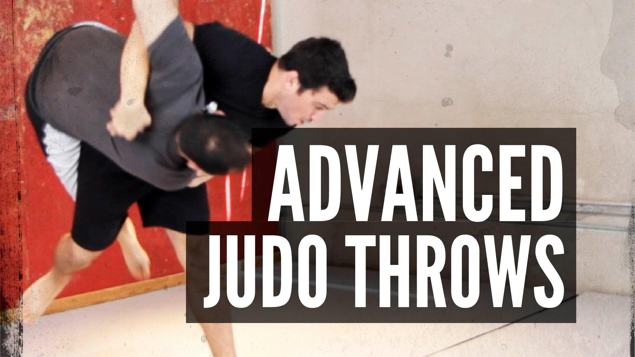 Advanced judo throws for mixed martial arts mixed