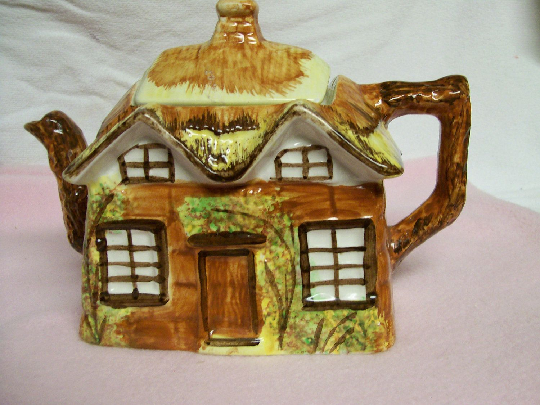 Vintage, Cottage Ware, Teapot, Price Marked Occupied Japan