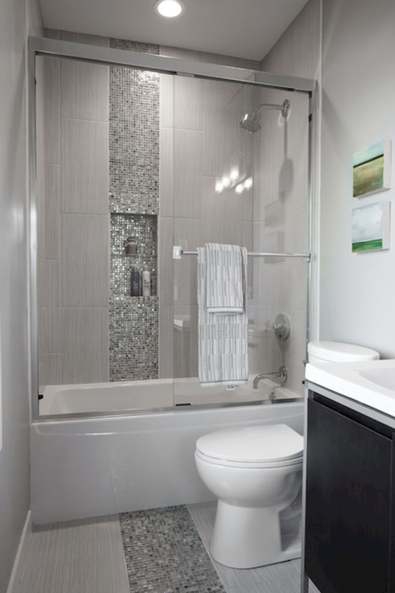 Best small bathroom remodel ideas on a budget (43 - Badkamer