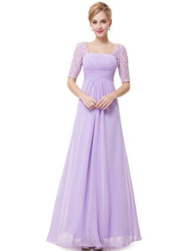 Ever Pretty Juniors Floor Length Prom Dress 14 US Light Purple Ever ...