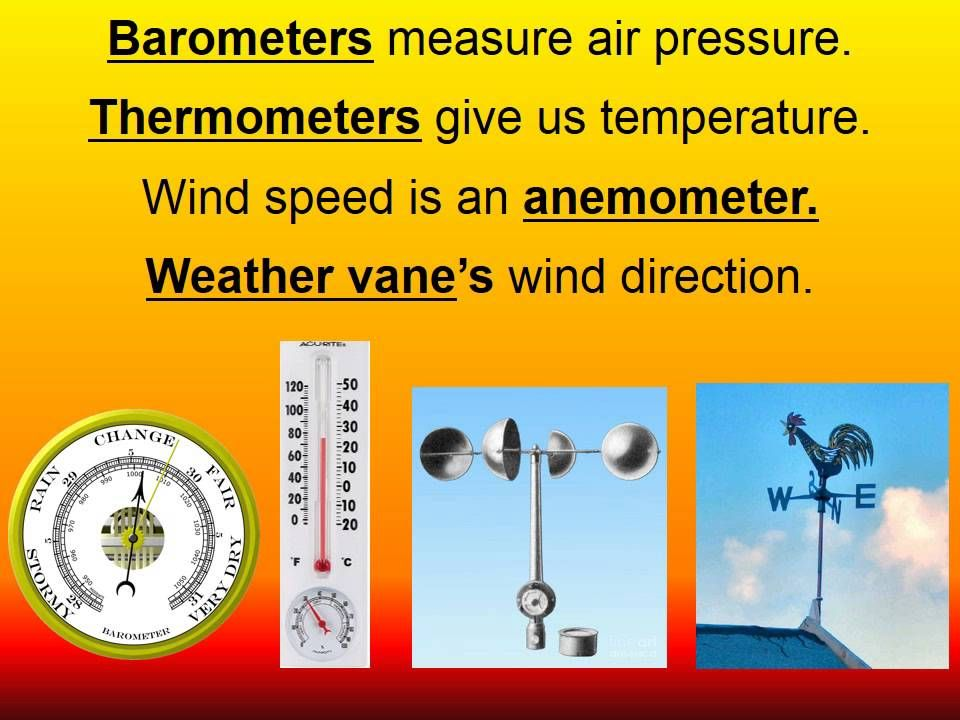 Weather Instruments Song Weather Instruments Elementary School Science 4th Grade Science