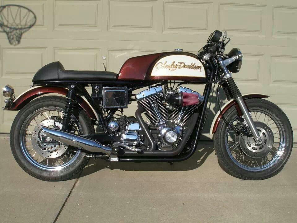 Awesome Harley Davidson V Twin Cafe Racer Cafe Racer Cafe Bike