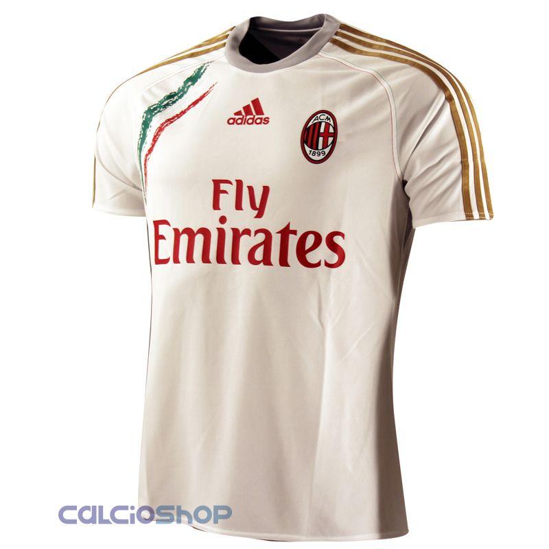maglia nera bianca milan adidas