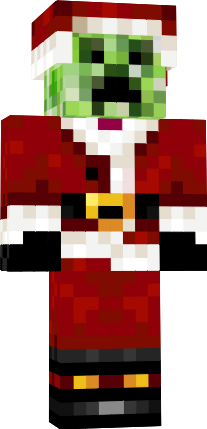minecraft skins creeper santa hey hey for more - Christmas Skins For Minecraft