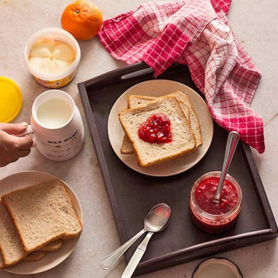 3 ingredient 'Homemade Strawberry Jam'. Best Jam ever!