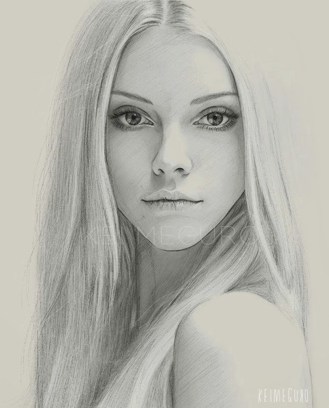 Portrait mastery getting back into sketching out some classic portraits photo reference elle evans discover the secrets of drawing realistic pencil