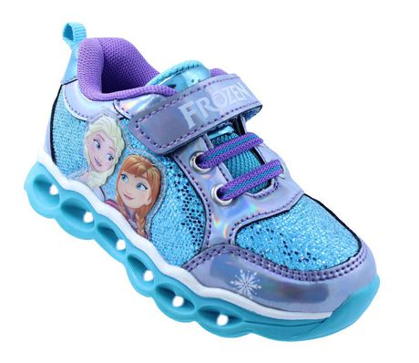 *New* Disney Frozen Baby//Toddler Select Size Pink//Purple Light Up Shoes//Sneakers
