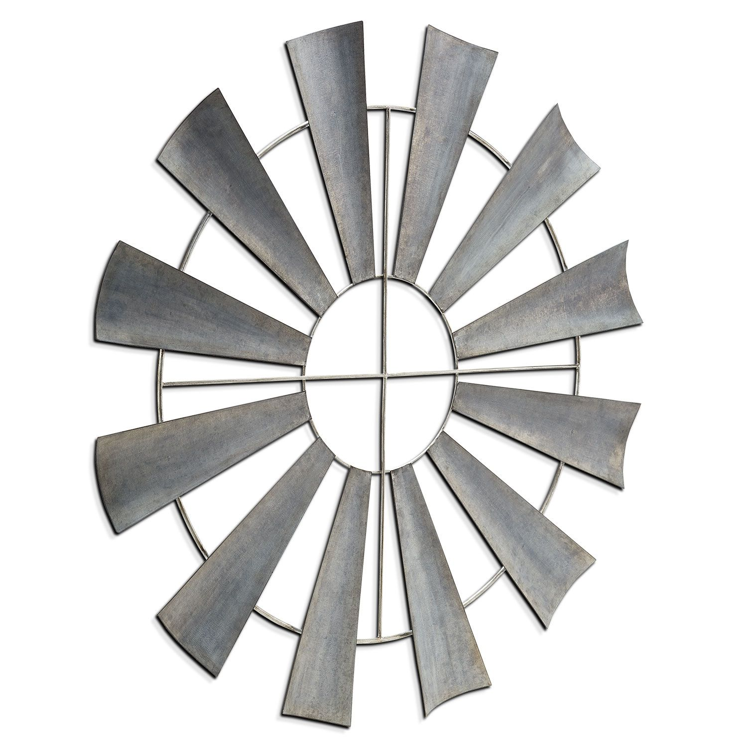Metal Windmill Value City Furniture Home