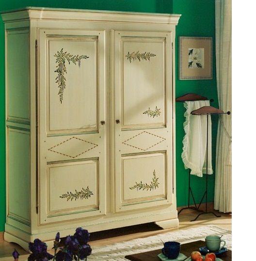 Armoire 2 Portes Style Provencal Armoire Decor Furniture