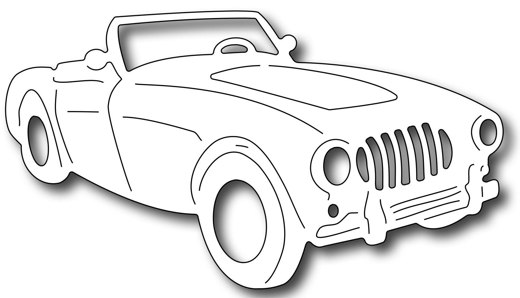 Frantic stamper precision die convertible roadster