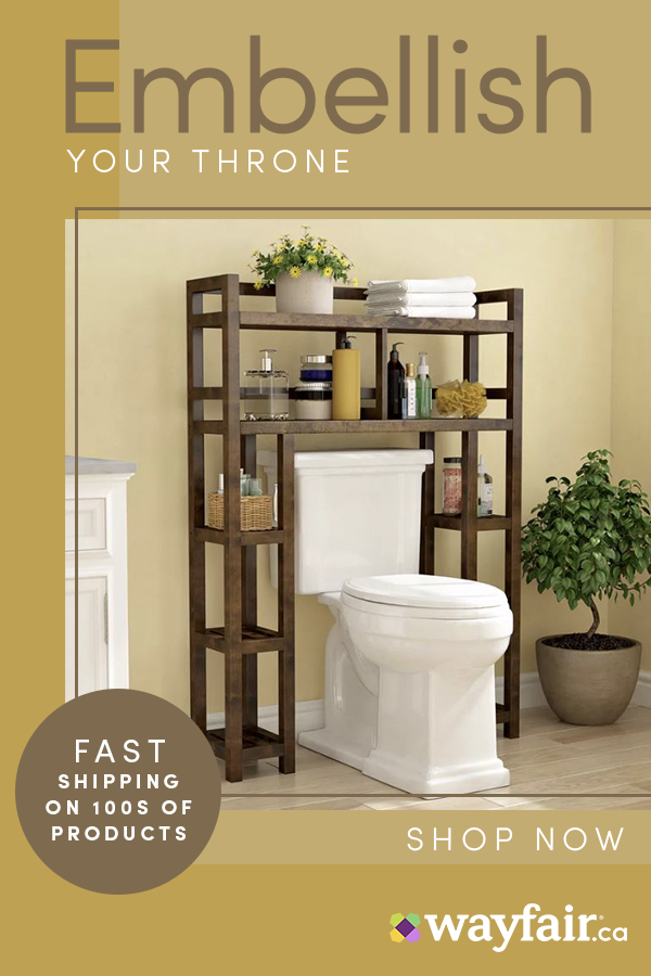 Renovate Your Bathroom With Wayfair Ca Sign Up For 10 Off Your First Order And Up To 70 Thousands Of Products Shop Top Toilets Vanities Bathroom Decor Home