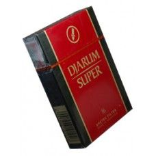"Djarum Super16 (Special)  Djarum Super (Djarum Special in the US) or ""Reds"", is another kretek brand produced by Djarum. They are equivalent to medium strength filtered cigarettes with the obvious exception of containing cloves. They differ greatly from Blacks, being much sweeter and containing less clove."