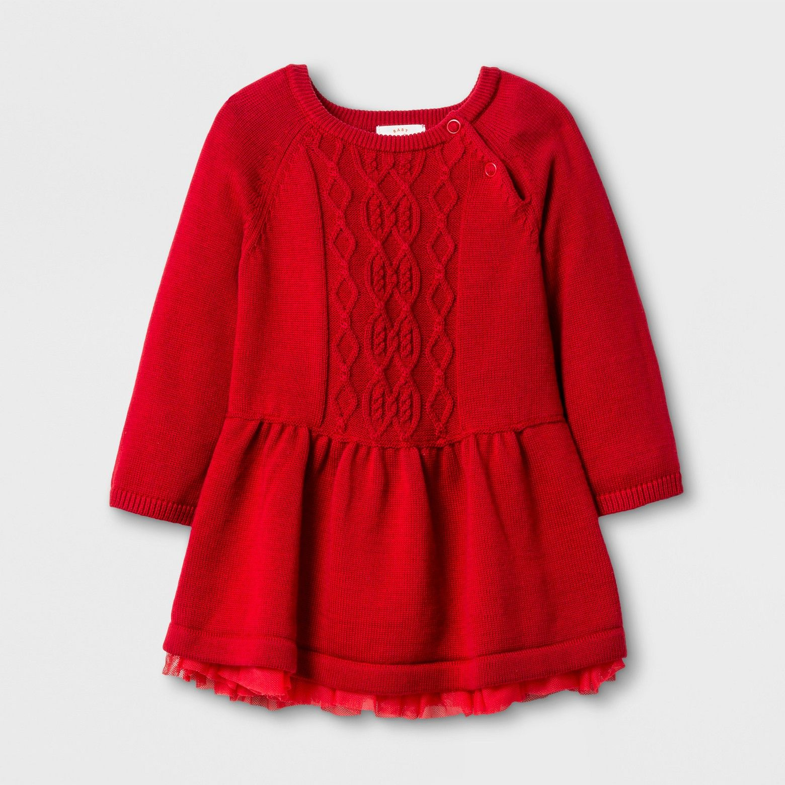 Baby Girls Dress With Sweater Set Cat Jack Red Velvet Target Red Cable Knit Sweater Dress Fashion Baby Girl Outfits Red Sweater Dress [ 1560 x 1560 Pixel ]
