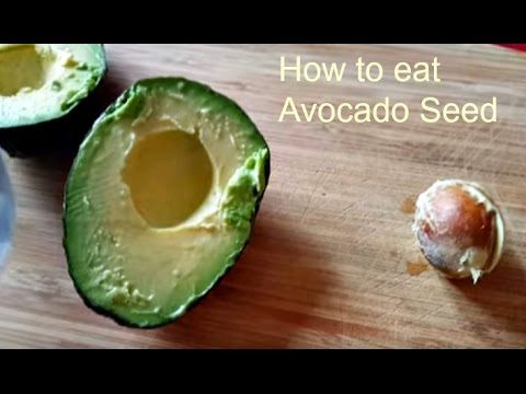 What to do with an Avocado Seed and How to eat it - The Big Apple Mama