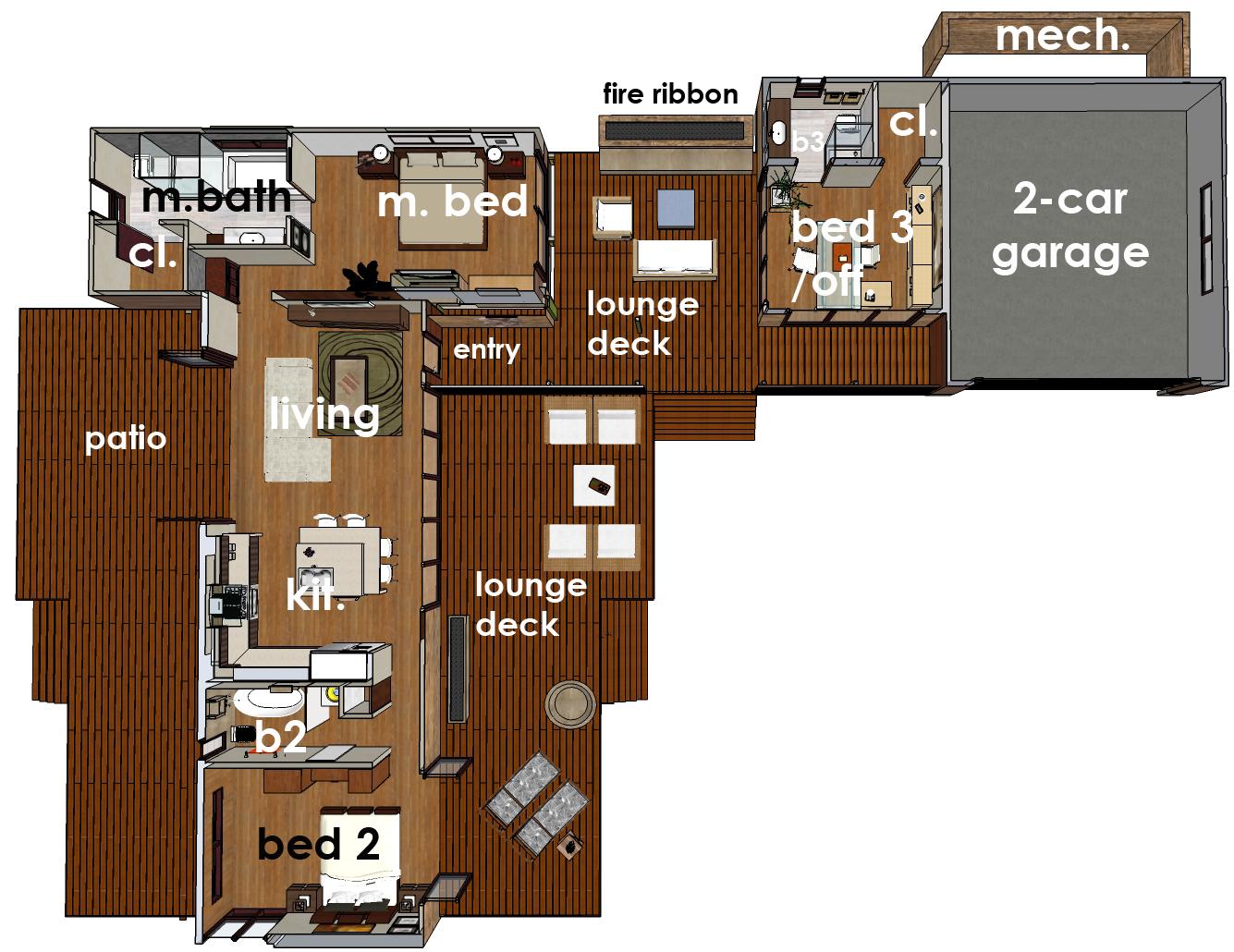 Leap Adaptive Homes Hummingbird H3 Floor Plan Http Www