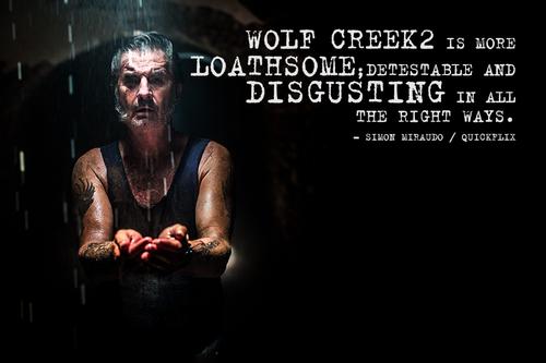 WolfCreek2 (2014) Movie Review film In cinemas now