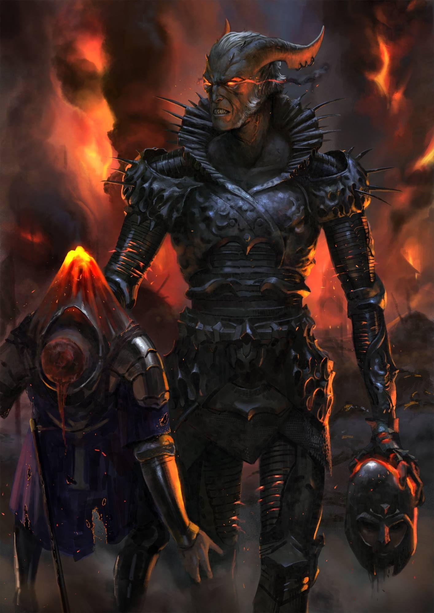 Dark Fantasy art on Behance