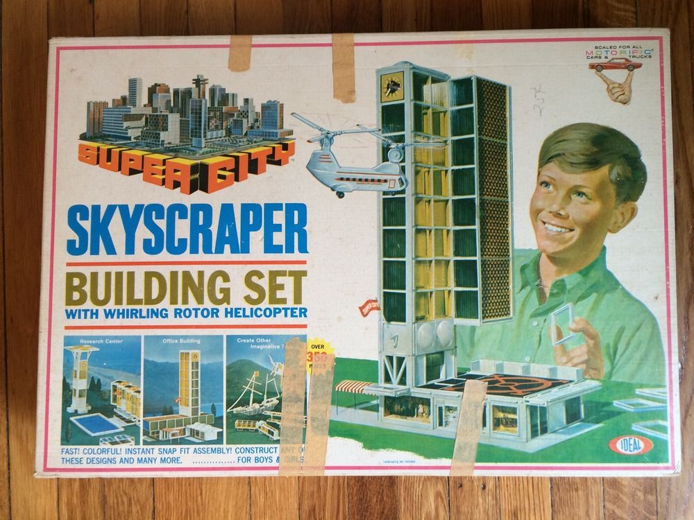 Image result for images of plastic skyscraper kit