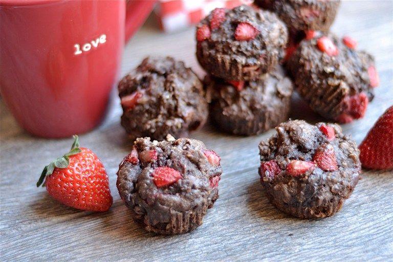 Chocolate Chia Strawberry Muffins 3