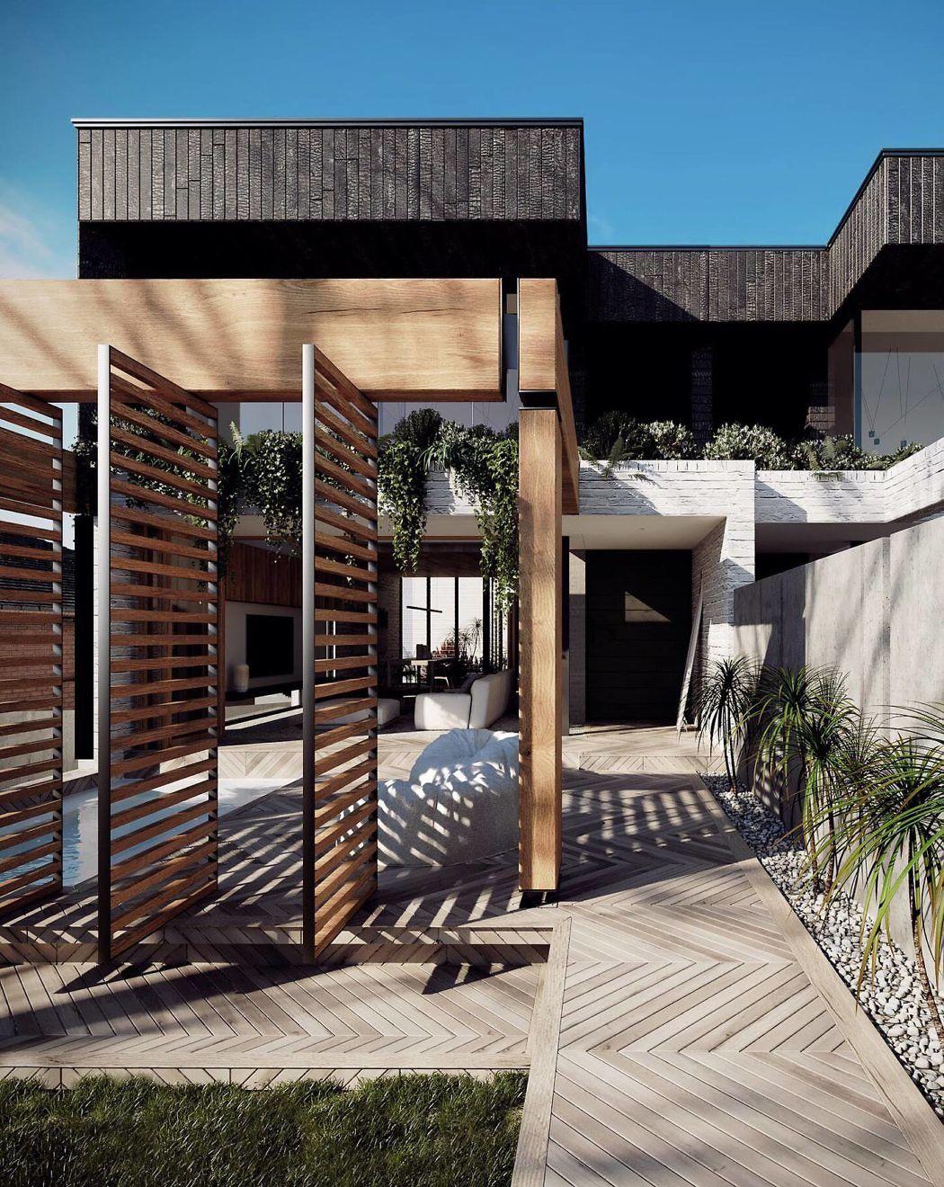 Mons residence by arkhaus homeadore casas pinterest casas