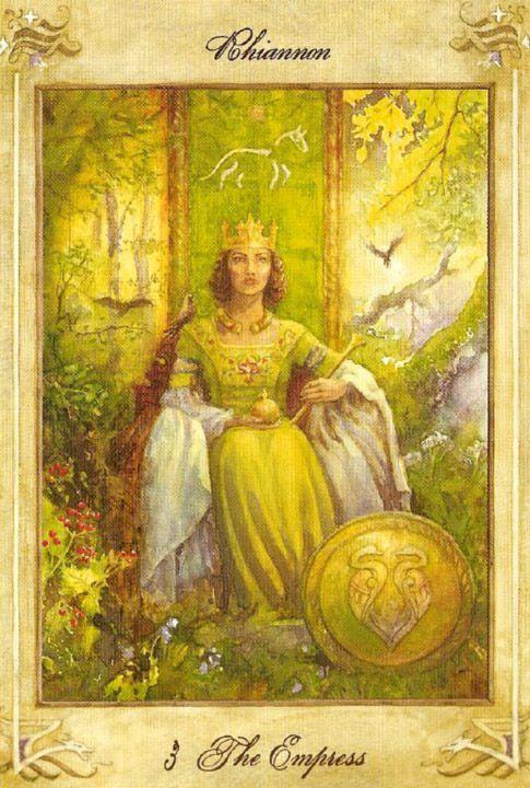 The Empress - Llewellyn Tarot | Empress | Tarot, Tarot astrology