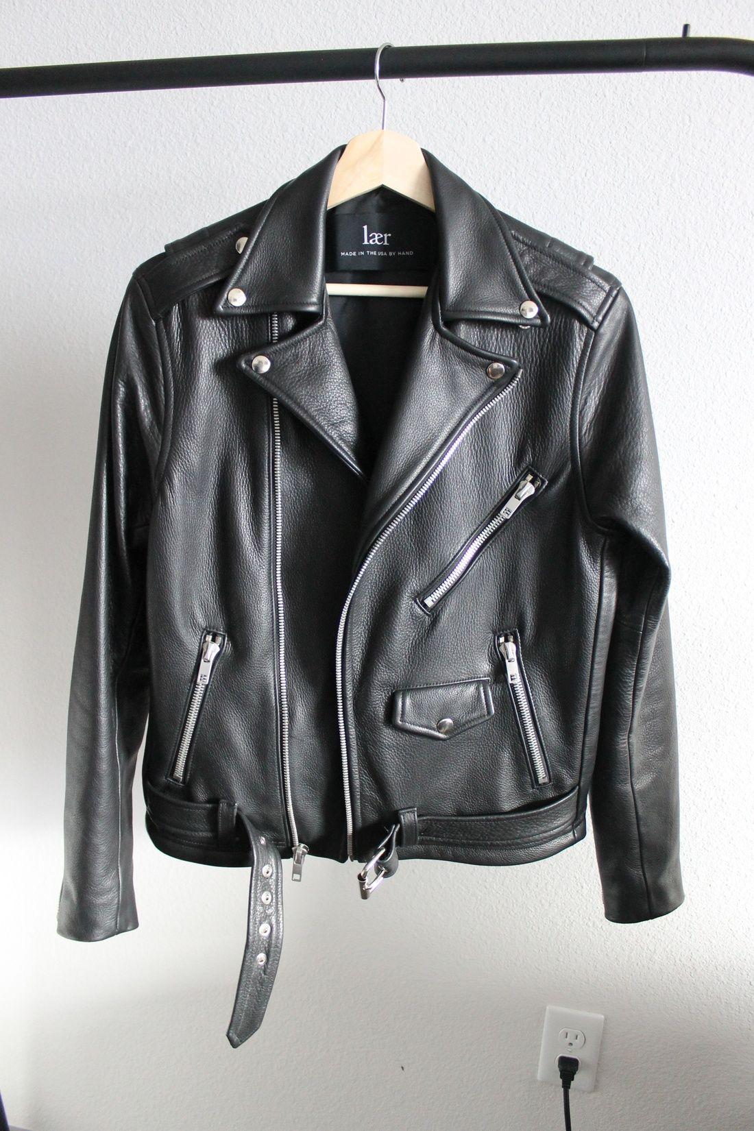 Laer Classic Leather Biker Jacket Size Xs 583 Grailed Leather Biker Jacket Clothes Biker Jacket