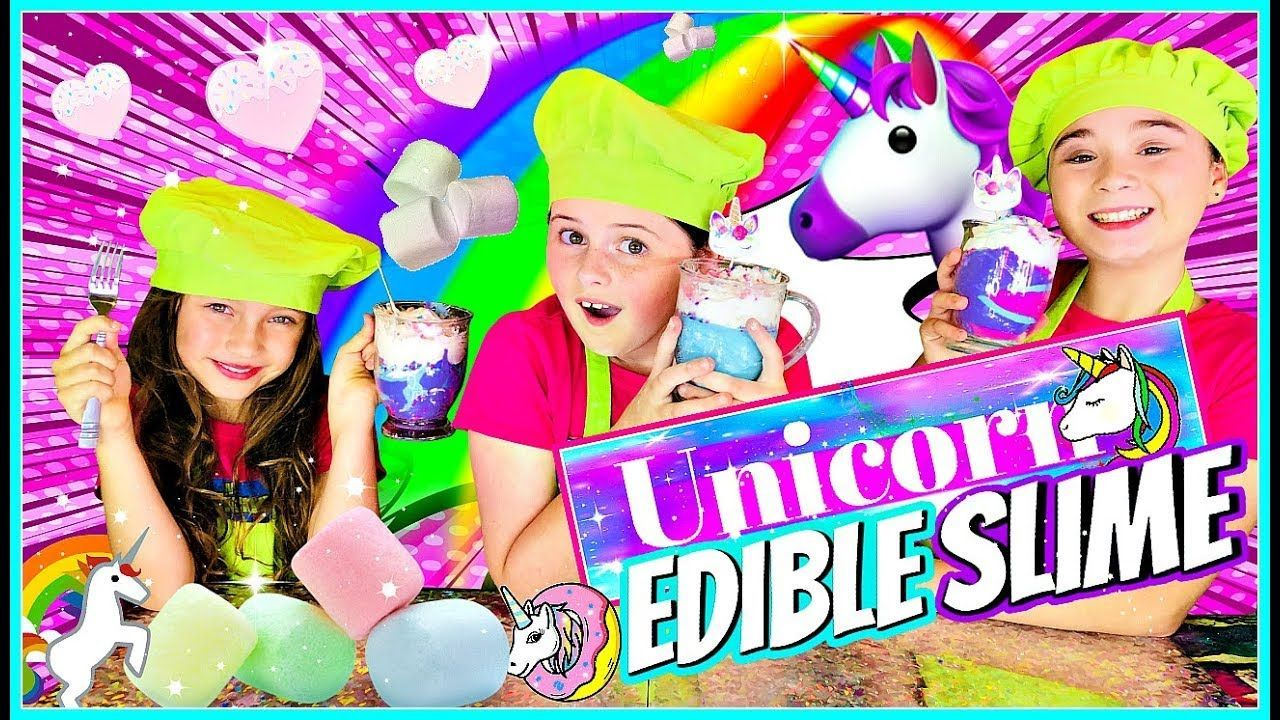 DIY Edible Slime Candy!  Learn How to Make Edible Unicorn Slime! #edibleslime DIY Edible Slime Candy!  Learn How to Make Edible Unicorn Slime! #edibleslime