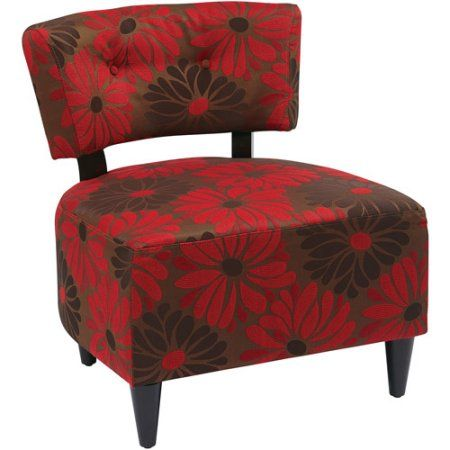 Avenue Six Boulevard Chair, Multiple Colors, Red
