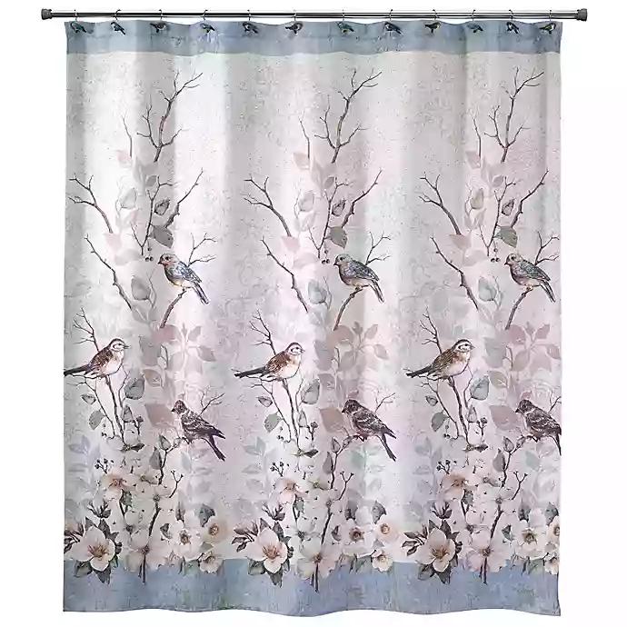 Avanti Love Nest Shower Curtain Country Blue Bathrooms Shower