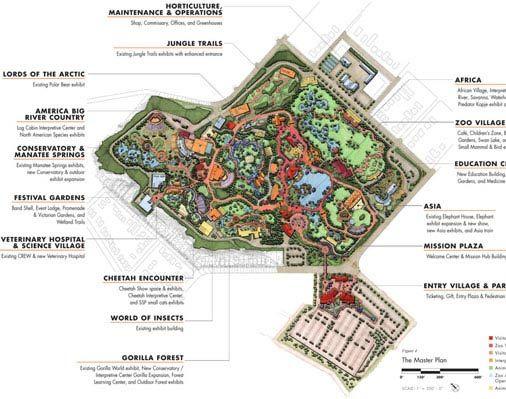 on cincinnati zoo map